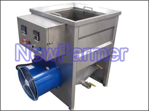 Potato Chips Frying Machine