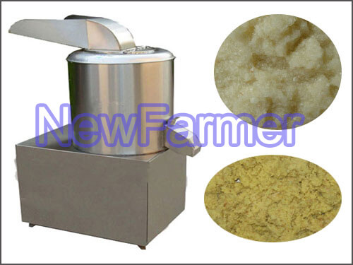 garlic paste machine