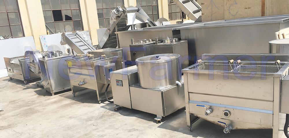 newfarmer potato chips machines